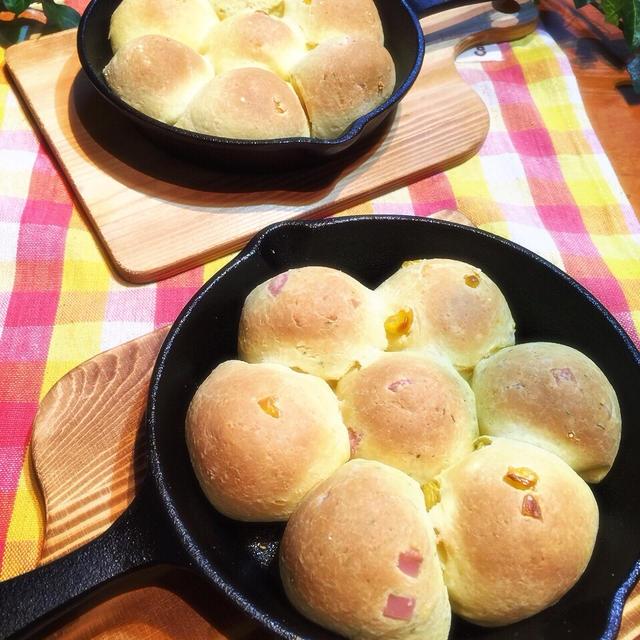 白玉粉でもちもちパン