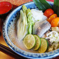 【和のおつまみで 秋刀魚と野菜のすだち昆布酢〆】さっぱりと美味しいです♪