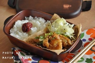 【簡単弁当】鶏むね肉でもこってりジューシー☆照り焼き弁当