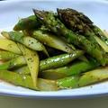 グリーンアスパラガスのサラダ