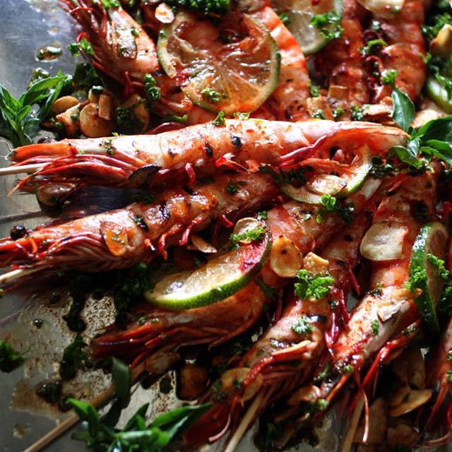 Oriental Grill Shrimp