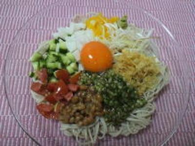 サラダ蕎麦