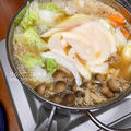 味噌仕立てのカワハギ鍋