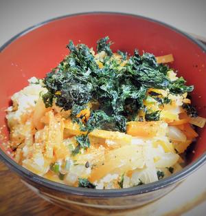 ◇お野菜たっぷり玉子丼