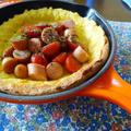 朝食のおかずに!トマトとウィンナーのダッチベイビー