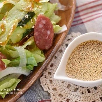 【レシピ・ドレッシング・作り置き・動画】野菜サラダが美味しくなる絶品ドレッシング・コチュジャンベースの韓国風