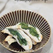 包丁まな板不要♡ピリッと美味しい♡柚子胡椒マヨの大葉はさみ♡〈時短おかず•糖質オフ〉