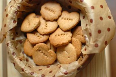 メガ・マクロビクッキー♪ ハニーとジンジャー