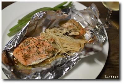 ハーブ香る時鮭のホイル焼き