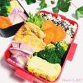カレー粉と発酵調味料で美容効果満点♡鶏もも肉のカレー焼き弁当