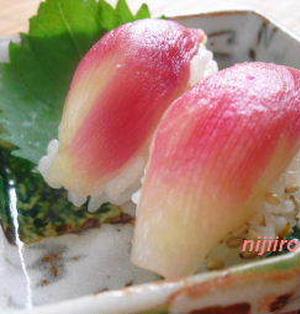 夏にさわやか☆みょうが寿司(レシピ)