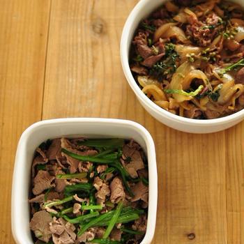 《お弁当にも!冷めても美味しい肉レシピ》と豚のカレー竜田揚げの献立