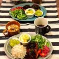 【レシピ】お待たせしました!野菜たっぷり豆腐ハンバーグ~味噌ソース~