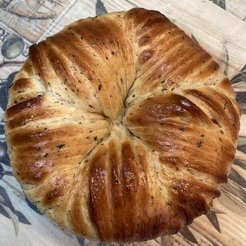 炊飯器りんごdeウールロールパン