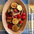 【レシピ】おつまみに最高♡ズッキーニとミニトマトのホットサラダ♡とお家遊び♡#サラダ #ホットサラダ #ズッキーニ #野菜 #おつまみ