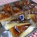 手作りのベイクドチーズケーキ
