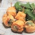 天ぷら粉で簡単美味しい♪ サーモンとブロッコリーのサクサク揚げ!  &ホワイトデーのスイーツ祭り