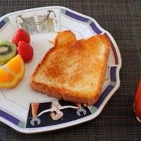 晩御飯が抜けちゃって兼用ごはん☆クイニーアマン風シュガーバタートースト♪☆♪☆♪