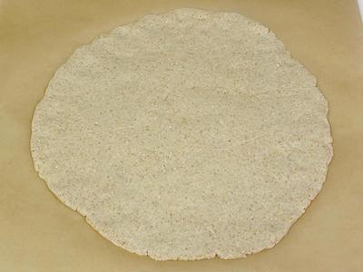 オーツフラワー(オートミール)で作る グルテンフリークリスピーピザ生地レシピ