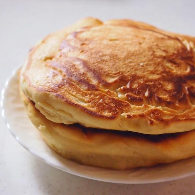 米粉とココナッツのやさしいパンケーキ (小麦粉・乳製品・豆乳不使用)