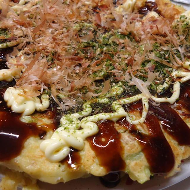 フライパンde豚肉とタコのお好み焼き&renさんのお弁当!!!