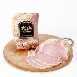 国産豚ロース肉を軽くローストしたシンプルなハム。あっさりとしながらも、コクのある旨味がたまりません。...