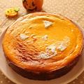ハロウィンパーティーに!かぼちゃのチーズケーキ