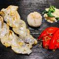 太刀魚の塩焼き / あしらい3種