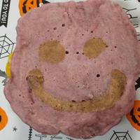 ハロウィンにぴったりな 顔つき南瓜クリームサンド