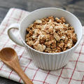 メープルおからオートミールグラノーラレシピ!砂糖なし油なし小麦粉なし!
