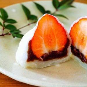 レンジで簡単おやつ!「切り餅」で作る至福の大福
