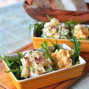 花椒がふわりと香るポテトサラダ