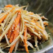 お弁当や副菜におすすめ♪しっかり味の「味噌きんぴら」