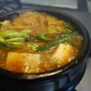 モツと豆腐のチゲ/激安スーパー
