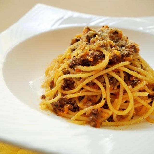 じっくり煮込んで~ミートソーススパゲティ