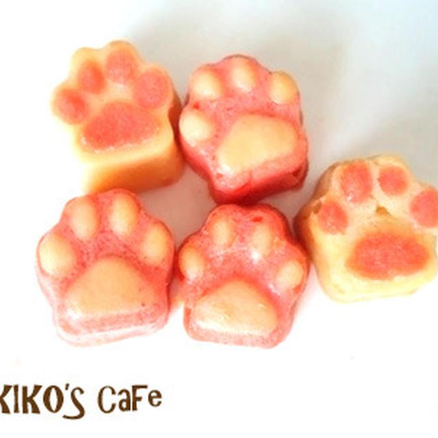 犬用ミニ肉球ケーキ、長持ち比べ☆