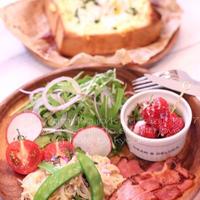 朝カフェ☆と~っても簡単・マヨたまトーストの時短モーニング(レシピ)