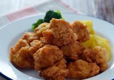 定番鶏のから揚げ。(カリっ&ジューシー)の晩ごはん。