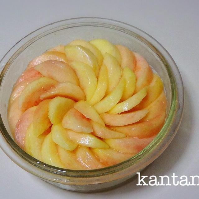 【キルフェボン流】桃のカットと桃のキレイな並べ方。動画あり。