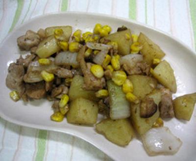 チキンと野菜のバルサミコソテー