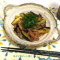 甘辛くしっかりした味付け♪茄子と牛肉の白味噌炒め
