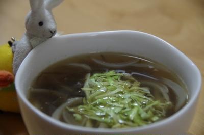もずくと生姜のスープ☆