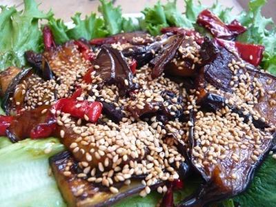 オーガニック自然派料理のなすの照焼き レシピ
