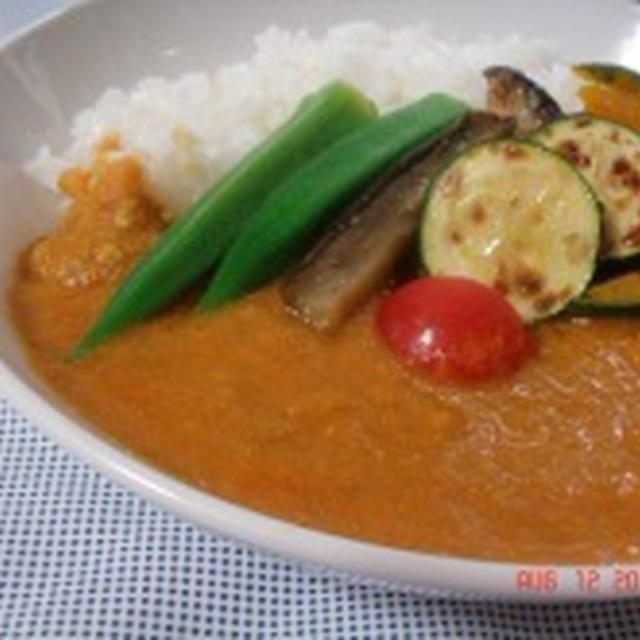 優しい味のインド風野菜カレー