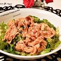 クックパッドでトップ10入り「ピリ辛だれ♪レタスと豚肉の冷しゃぶサラダ」