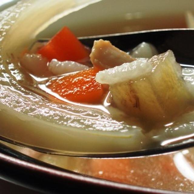 チキンスープwithライス:湯炊き冷凍ご飯が重要ポイント!(スロークッカー編):夢の中の不思議な行動は寝ぼけかな