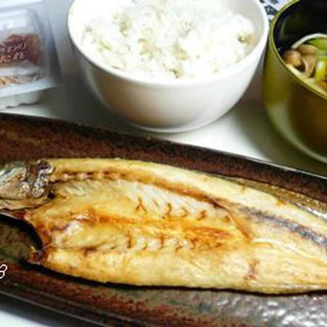 0228☆焼き魚・納豆・キノコ汁