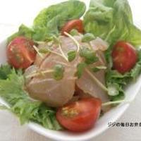 モニター当選!モランボン・鯛のお刺身で簡単ナムル風サラダ