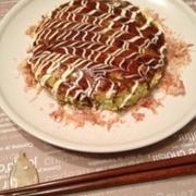 【糖質制限】豆腐でふわふわお好み焼