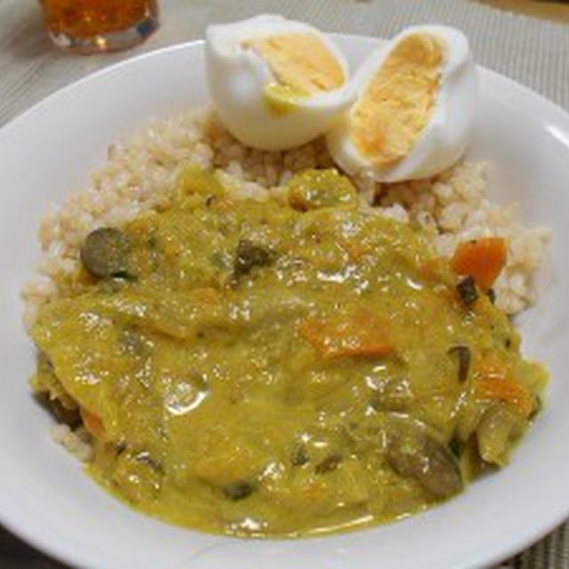 重ね煮で野菜10種カレー